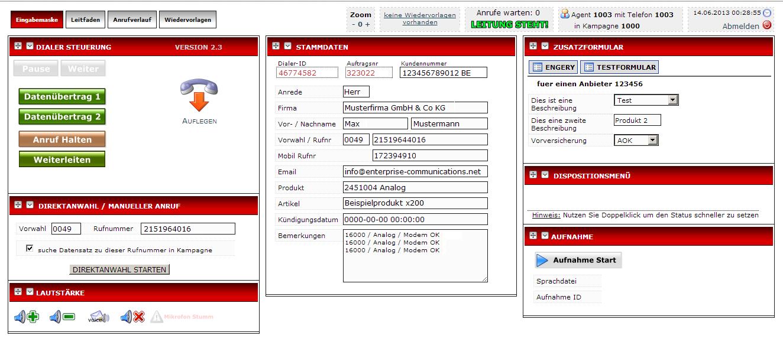 screenshot predictive dialer auto dialer
